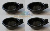 Replacement Black Plastic Egg Poacher Cups X 4