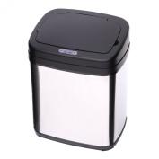 Homcom 20L LUXURY Automatic Sensor Dustbin Kitchen Waste Bin Rubbish Trashcan Auto Dustbin Stainless Steel with Bucket 2014 NEW 33*25*42.5CM