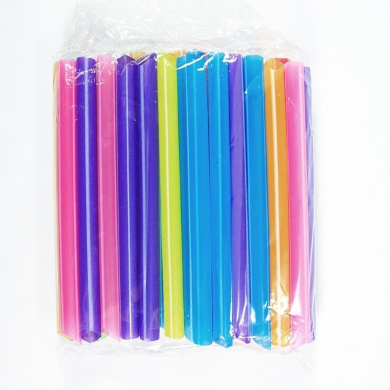 17cm pcs Long Boba Drinking Straws Party Smoothies Cocktail Milk Thick Shakes Tea Bubble Jumbo Fat Giant (2 Pack)