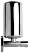 VELMA - TD-10110 - Elegant wall-mounted soap or lotion dispenser - brass and stainless steel - no plastic - 100% rustproof - Premium quality!