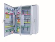 Wedo 150 Key Capacity Key Cabinet - Grey