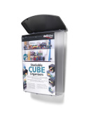 Deflect-o Crystal Outdoor Literature Box with UV Inhibitors - Transparent