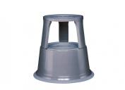 Wedo Metal Kick Stool - Grey