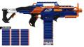 Nerf N-Strike Elite Combo Rapidstrike CS-18 + 30 Elite Clip System Darts Refill Pack