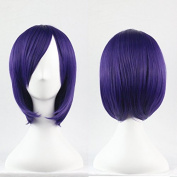 Sexy Heat Friendly Short Straight Highlights Lolita Cosplay Party Hair Wig
