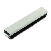Deluxe Chalkboard Eraser/Cleaner, Laminated Felt, 12w x 2d x 1 5/8h