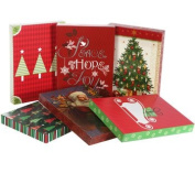 Assorted Christmas Themed Lingerie Sized Gift Boxes, 3-ct. Pack