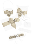 Regal Ties Gift Set White / Champagne