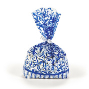 Blue Swirl Favour Bags (12 pc)