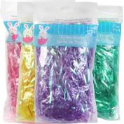 Easter Grass Easter Basket Filler 4 - 120ml Bags Multi Colours