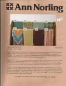 Scarves to Knit - Ann Norling Knitting Pattern #33 - Pattern Only
