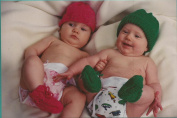 Fibre Trends Baby Basics Knitting Pattern AC-36 hats & Booties