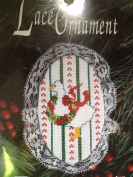 Christmas Ornament ~ Goose with Lace ~ Counted Cross Stitch Kit