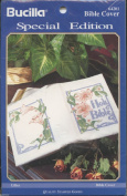 Lillies Bible Cover Stamped Cross Stitch Kit 64201