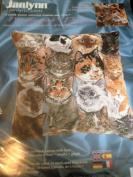 Janlynn Needlepoint Feline Frolic #86-101