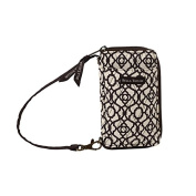 Bella Taylor Cocoa Trellis All-In-One-Wristlet