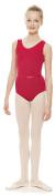 Girls ISTD Plum Ballet Sleeveless Cotton Leotard All Sizes KDC036 By Katz Dancewear