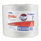 WYPALL X90 Cloths, Industrial, 11 1/10 x 13 2/5, White, 450/Roll