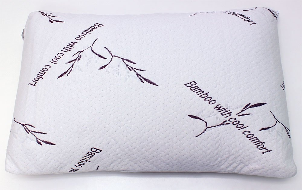 Bamboo Pillow With Cool Comfort Queen By Feel My Bamboo Pillow