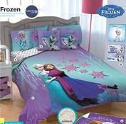 Frozen Reversible Comforter Complete Set Twin