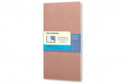Moleskine Chapters Journal, Slim Pocket, Dotted, Old Rose, Soft Cover