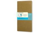 Moleskine Chapters Journal, Slim Pocket, Dotted, Tawny Olive, Soft Cover