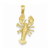 Top 10 Jewellery Gift 14k Lobster with Side Legs Pendant