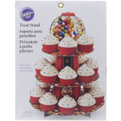 Wilton Treat Stand, 23cm by 30cm , Photo Real Gumballs