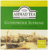 Ahmad Tea Loose Leaf Green Tea, Gunpowder, 520ml