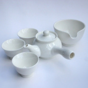 Korean Tea Set / Studio in Yeoju / Gift Boxed 3 Cup Tea Set / Fidelity