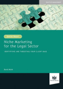 Niche Marketing for the Legal Sector