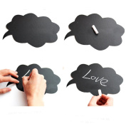 New 10pcs MR.and MRS Wedding Ideas Photo Mini Chalkboard Signs With Skewers Mini Blackboards Photography Props Wedding Party Decorations