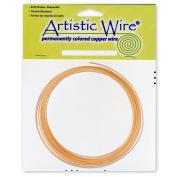 Artistic Wire 12-Gauge Bare Copper Coil Wire, 7.6m