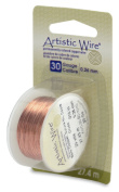 Artistic Wire 30-Gauge Bare Copper Wire, 30-Yards