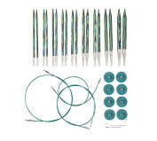 Knit Picks Options Interchangeable Caspian Circular Knitting Needle Set