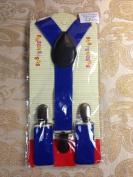 New Cute Kids Baby Navy Blue Suspenders Adjustable Fashion
