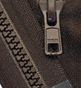 70cm Vislon Zipper ~ YKK #5 Moulded Plastic Sport Zipper ~ Separating - 868 Sabel Brown