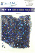 SS10 (3mm) Cobalt AB Hot Fix Rhinestones 10 Gross (1440 stones/pkg) Hotfix Rhinestones - 32 Colours and 4 sizes available