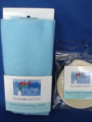 Body Exfoliating Cloth/towel and Clean Weave Facial Buff 2pcs/set, Remove Dead Skin Cells on Hard-to-reach Areas and Provides the Ultimate in Facial Cleaning and Gentle Exfoliation