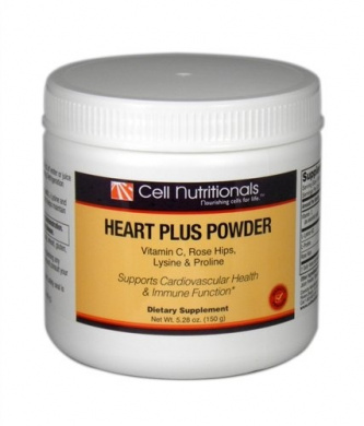 Heart Plus Powder Vitamin C, Rose Hips, Lysine & Proline