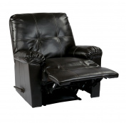 OSP Designs Kensington Recliner Chair, Espresso