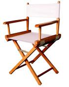 Casual Home 46cm Director Chair, Honey Oak Frame