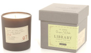 Paddywax Library Collection Oscar Wilde 190ml Glass Candle, Cedarwood, Thyme, Basil