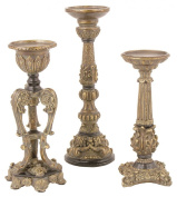 IMPORT Collection 72-888 TIC Collection English Gate Pillar, Set of 3