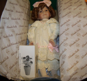 "DIANNA EFFNER'S ""THE GOOD LITTLE GIRL WITH THE CURL"" COLLECTIBLE DOLL FROM KNOWLES"