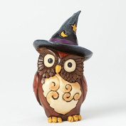 Jim Shore Heartwood Creek Halloween Mini Owl Witch