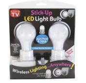 Stick Up LED Light Bulb- 2 Pack