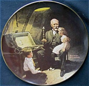 "Limited Edition of Granpa's Treasure Chest"" By Norman Rockwell"
