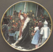 Wizard of Oz Hamilton Plate If I Were King of the Forest 50th Anniversary