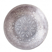 Shiraleah Pewter Jaipur Bowl, Large